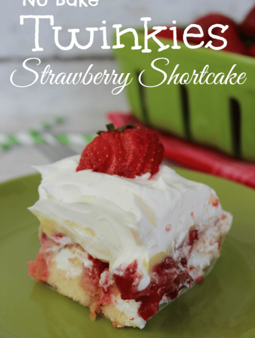 No Bake Twinkies Strawberry Shortcake