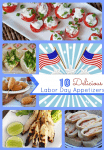 Labor Day Recipe Ideas – 10 Delicious Labor Day Appetizers