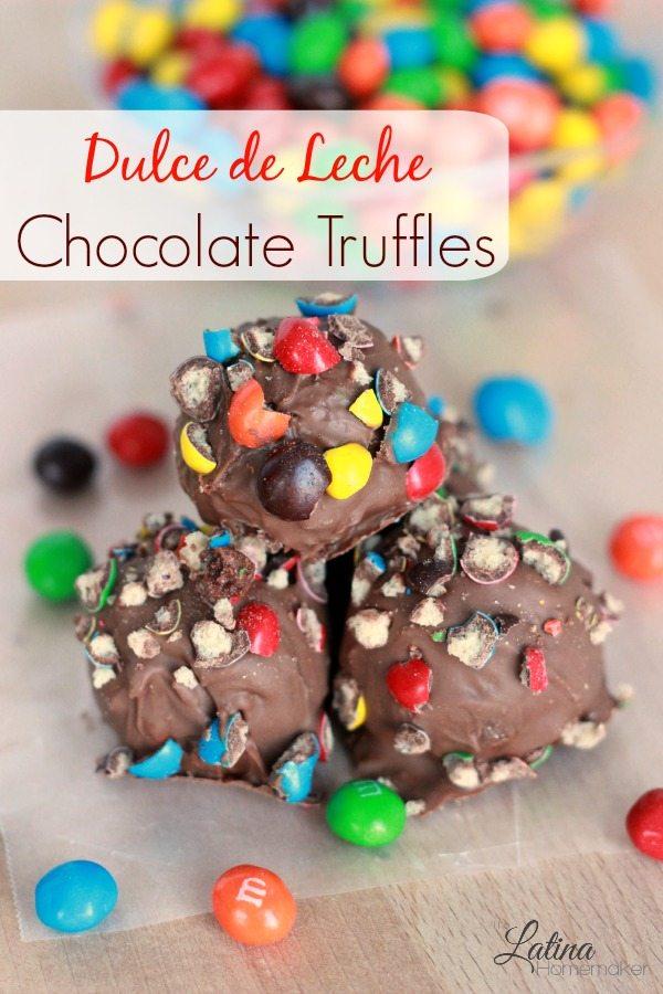 Dulce de Leche Chocolate Truffles