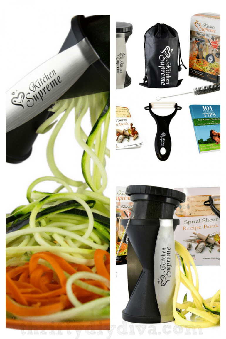 Kitchen Supreme All Purpose Spiralizer