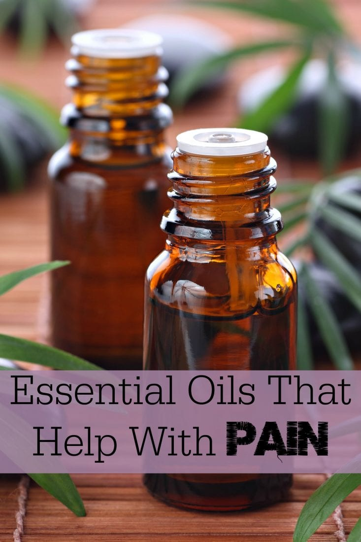 Essential Oils That Help With Pain