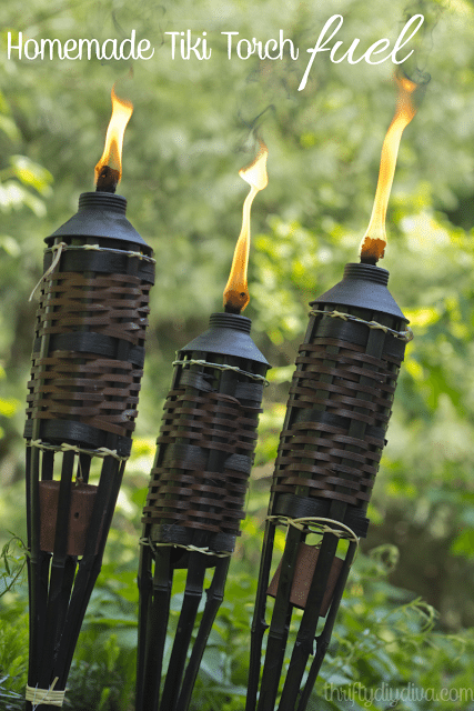 how to make homemade tiki torch fuel