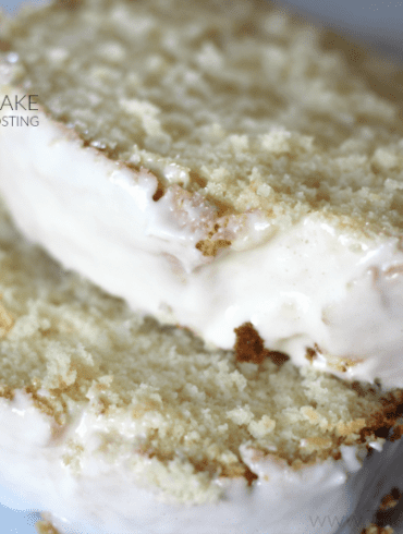 Paleo Vanilla Pound Cake and Cream Cheese Frosting