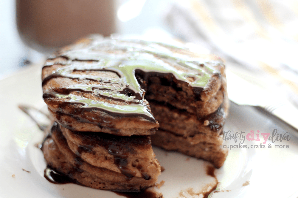 Make-Ahead Flourless Chocolate Banana Blender Pancakes