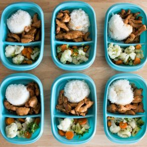 teriyaki chicken lunch idea meal prep recipe
