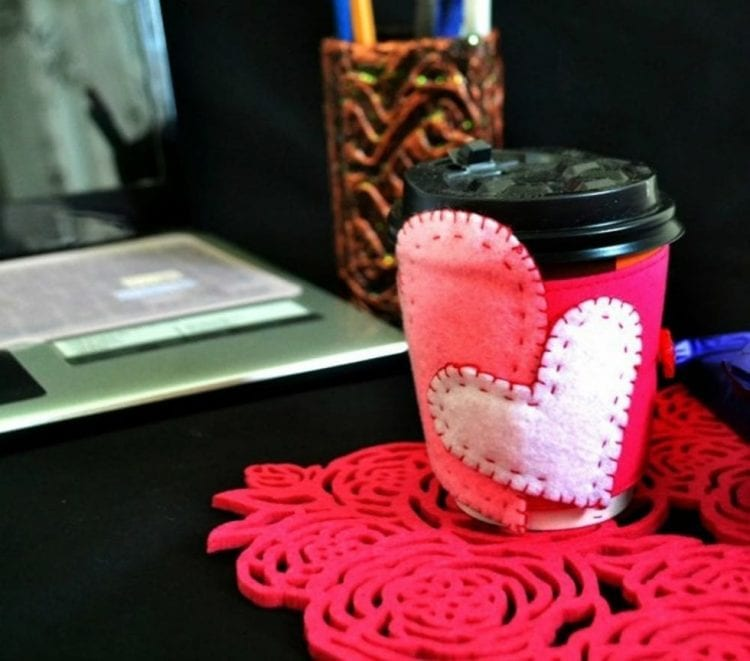 Felt Mug Coozie from Believe Inspire