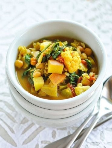 Curried Vegetable & Chickpea from The Kitchn
