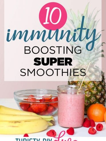 10 Immunity-Boosting Super-Smoothies